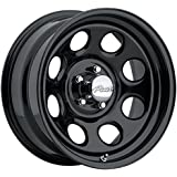 "Pacer 297B SOFT 8 BLACK Black Wheel (17x8""/6x5.5"", 0mm Offset)"