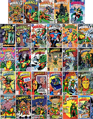 Mister Miracle #1-28 & Special #1 Complete Series (DC Comics 1987 - 29 Comics)