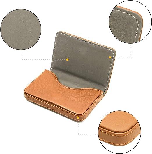 XTQDM Key Case,Porte-Carte de Visite en Cuir Sac de Dame Impression /étui pour Carte didentit/é Porte-Carte de cr/édit Embrayage Porte-Carte Femme blackhua