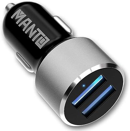 Amazon.com: Manto - Cargador de coche con adaptador USB para ...