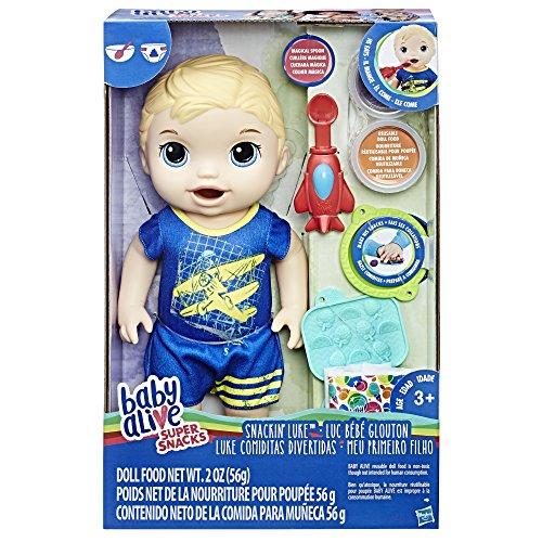 Baby Alive Super Snacks Snackin' Luke (Blond) JungleDealsBlog.com