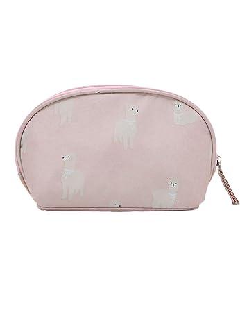 Amazon.com: Media luna, siete patrones, bolsa de cosméticos ...