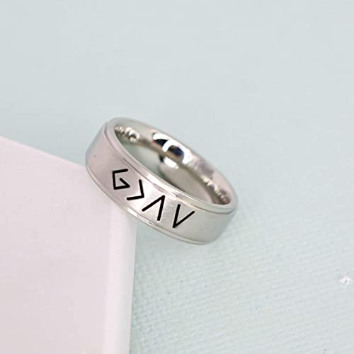 44cf3b78 Amazon.com: God is Greater than the Highs and Lows stainless steel ...