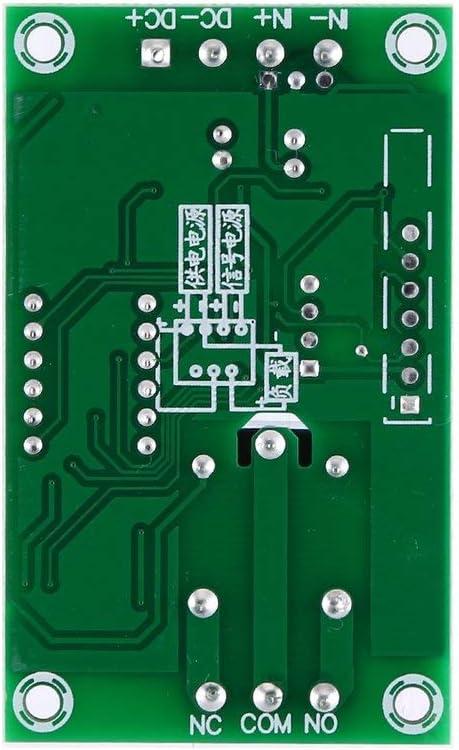 Candybarbar DC 12V 5A Einstellbares LED-Relaismodul Ausschaltverz/ögerung Timer-Steuerschalttafel Zyklische Ausl/öseverz/ögerung YYC-2S