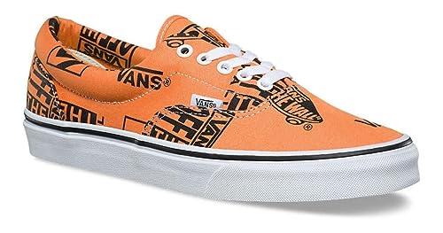 564f31929d28 Vans - Trainers - UA Era (Logo Mix) Tangerine Black  Amazon.co.uk ...