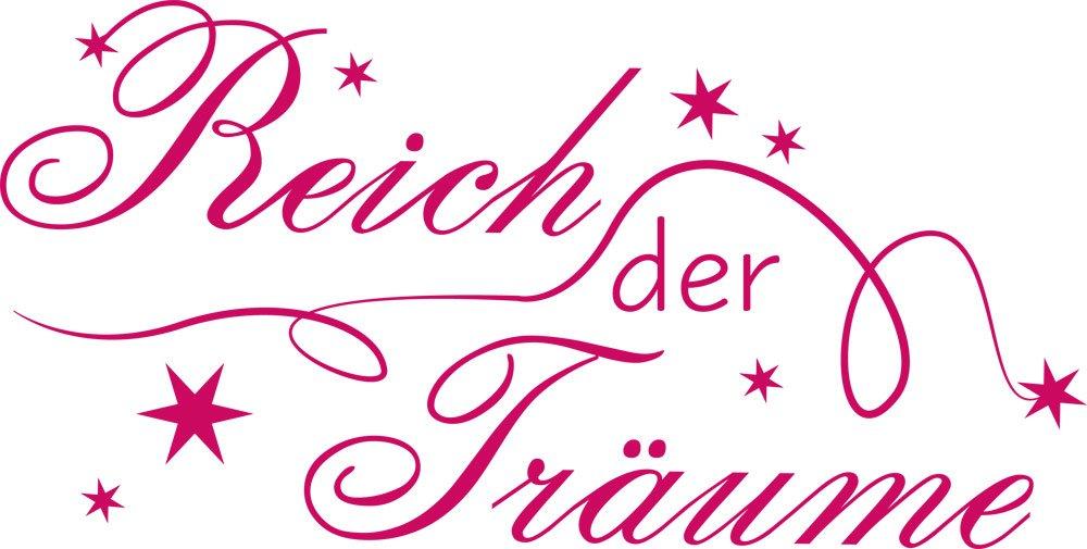 GRAZDesign Schlafzimmer Wandtattoo Reich der Träume - - - Home Dekoration modern Sterne - Wandtattoo Deko über Bett   113x57cm   670169_57_070 B00KS6DY6S Wandtattoos & Wandbilder 5992b9
