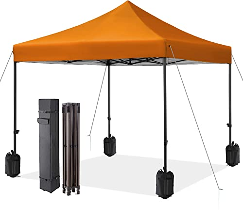 MEWAY 10' x 10' Commercial Canopy Tent Pop Up Instant Canopy Shelter