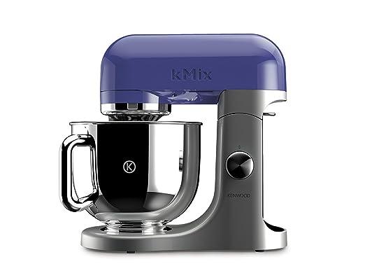 663 opinioni per Kenwood Linea kMix KMX50.BL Kitchen Machine con Ciotola in Acciaio, Mirtillo