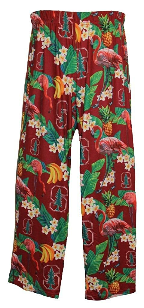 Stanford Cardinals Womens Scatter Pattern Floral Pajama Lounge Pants