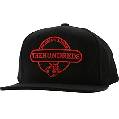 9fb9781b925 Image Unavailable. Image not available for. Color  The Hundreds Town  Snapback Cap (black)