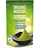 Té verde matcha en polvo - Potente antioxidante japonés matcha orgánico de grado culinario - 4 onzas (113 gramos) - Aumenta la energía y la atención - Favorece la pérdida de peso y un metabolismo