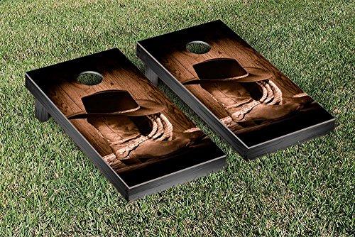 Victory Tailgate Cowboy Hats & Boots Cornhole Game Set