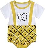 KaloryWee Baby Boys Girls Pyjamas Kids Toddlers Elephant Pjs Romper Jumpsuit UK Months