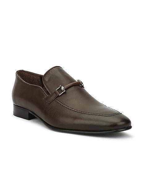 67f5b9a68124 Joeshu Men s Brown Formal Shoes - 5 UK India (39 EU))(688-BROWN ...