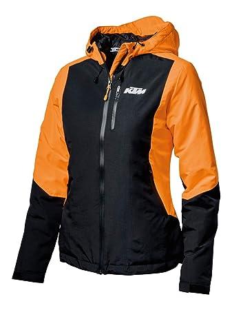 Women Damen Jacke Original Orange Ktm Jacket MAmazon Größe OZuPkXi