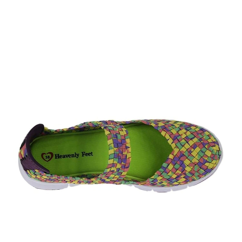 Heavenly Feet Lollipop Jade Zapatos Multi EU38 Multi Jade 2tSGzjvU7Y