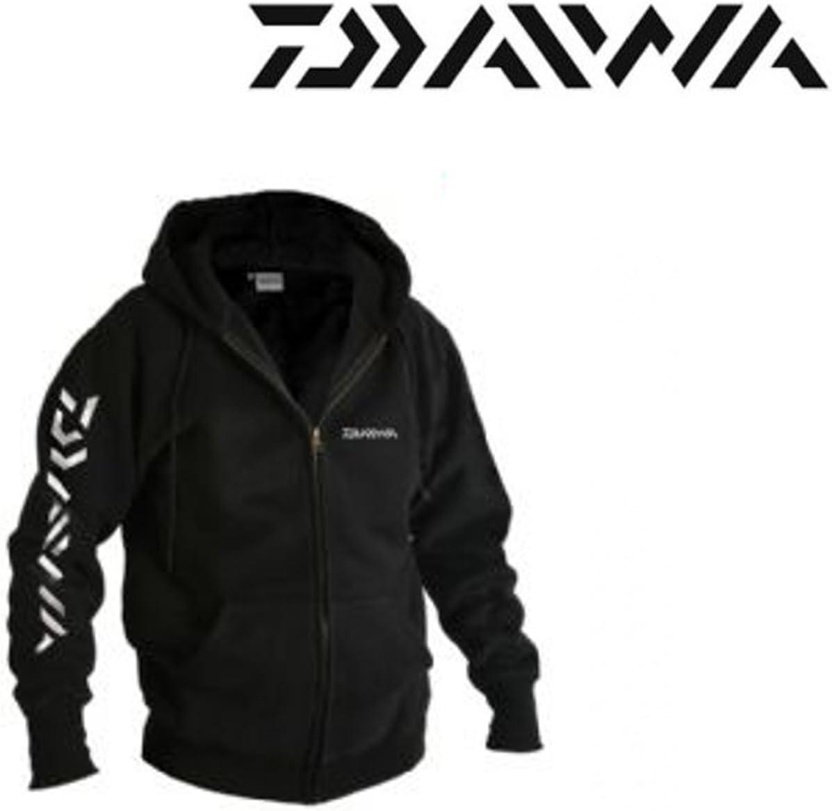Daiwa Sweat Shirt Capuche Noir