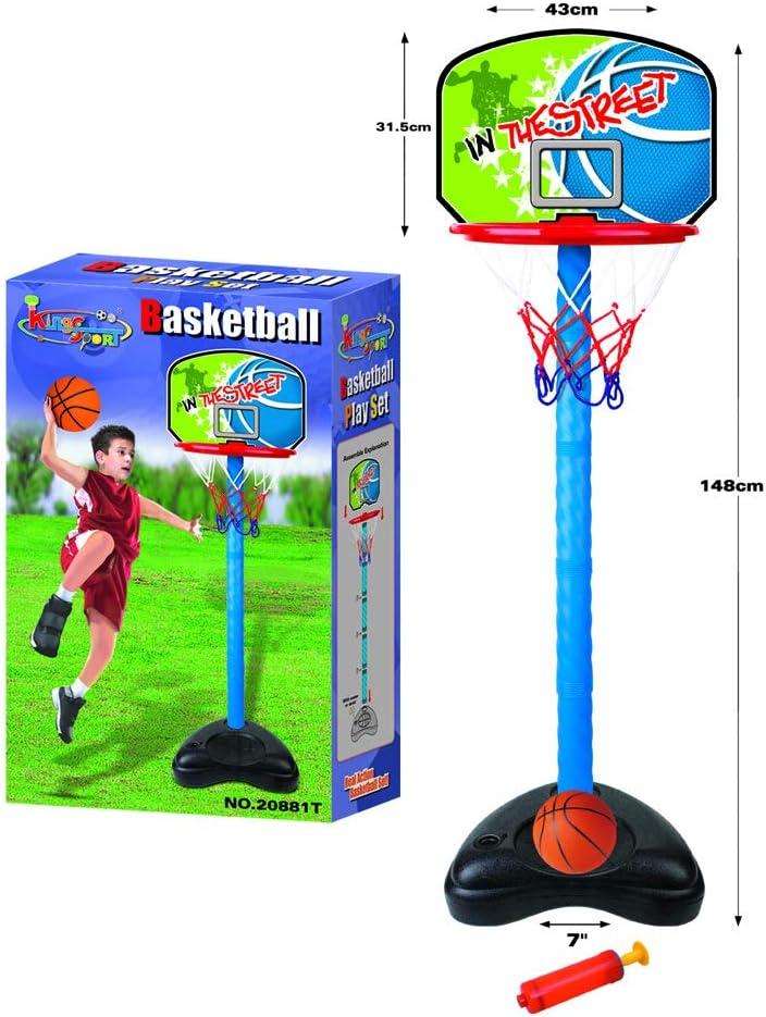 kings Sport Set Canasta DE Baloncesto para NIÑOS: Amazon.es ...