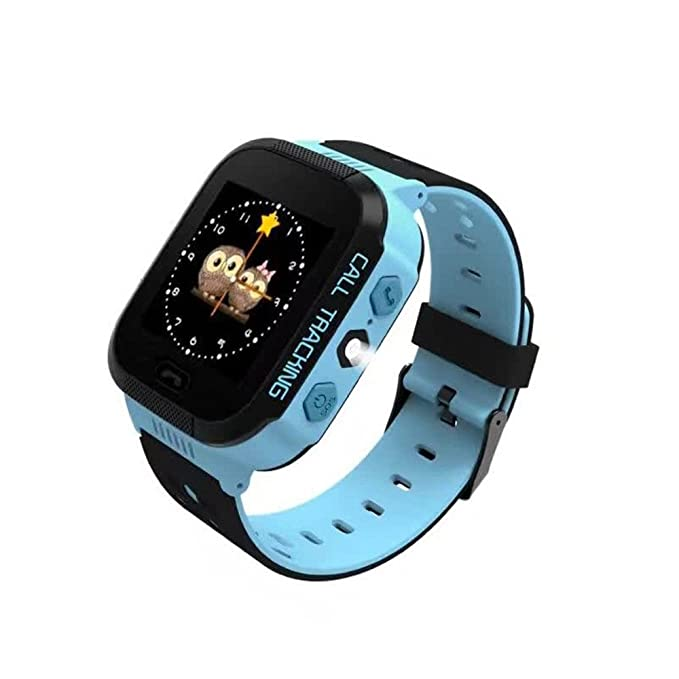 Amazon.com: SMFR Kids Smart Watch for Android iOS Anti Lost GPS Tracker Wristwatch Waterproof smartwatch (Blue): Cell Phones & Accessories
