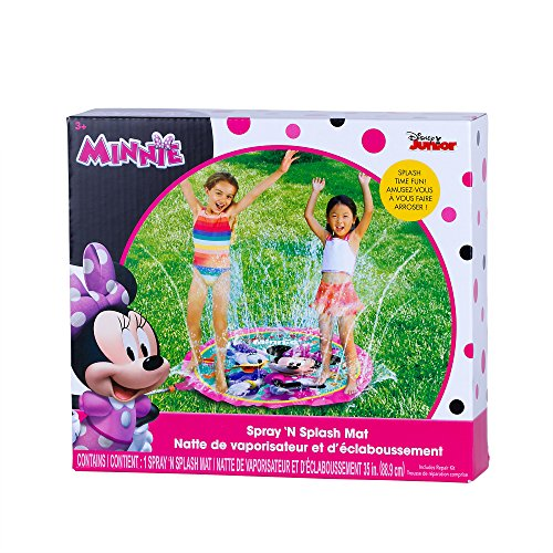 (NENUKA Disney Minnie Mouse Water Sprinkler Spray Mat (Minnie)