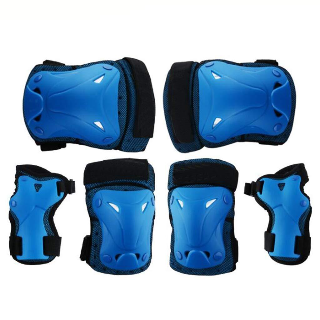 Schutzausrüstung Set, Sport Ellenbogen Handgelenkstütze Pad, Outdoor Sports Zubehör Für Kinder Und Erwachsene (6 Stück)