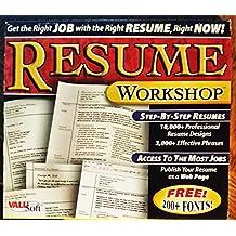 Resume Workshop (Jewel Case)