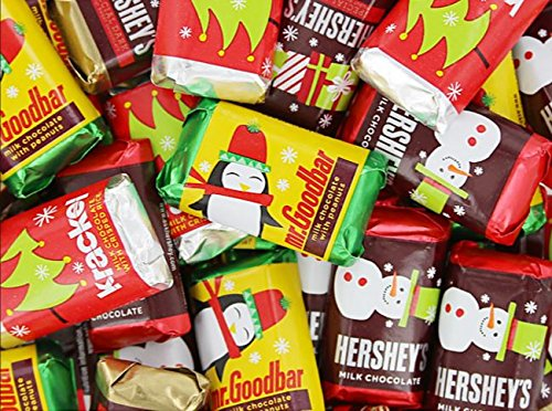 HERSHEY'S Holiday Chocolate Miniatures Assortment, 48 Ounce