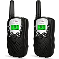 TOP Gift Handheld Walkie Talkies Kids 2 Mile Range Built in Flash Light Hunting Accessories TGDJ888 Best Gifts