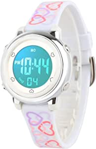 Kid's Digital Watch Outdoor Sports Waterproof Electronic Watches Alarm Clock Stopwatch Calendar Boy Girl Wristwatch