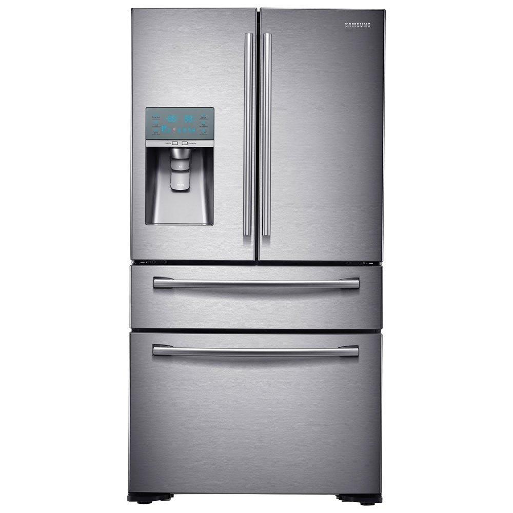 Best Cabinet Depth Refrigerator Amazoncom Samsung Rf24fsedbsr Stainless Steel Counter Depth 4
