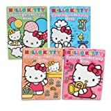 Hello Kitty Coloring Book, 96pg(set of 4)