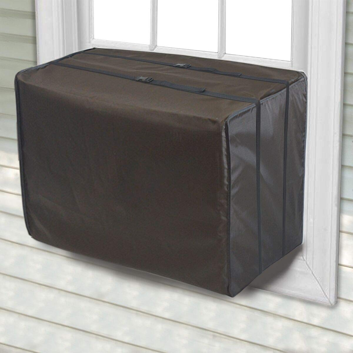 Jeacent Window Air Conditioner Cover Small, Bottom Covered
