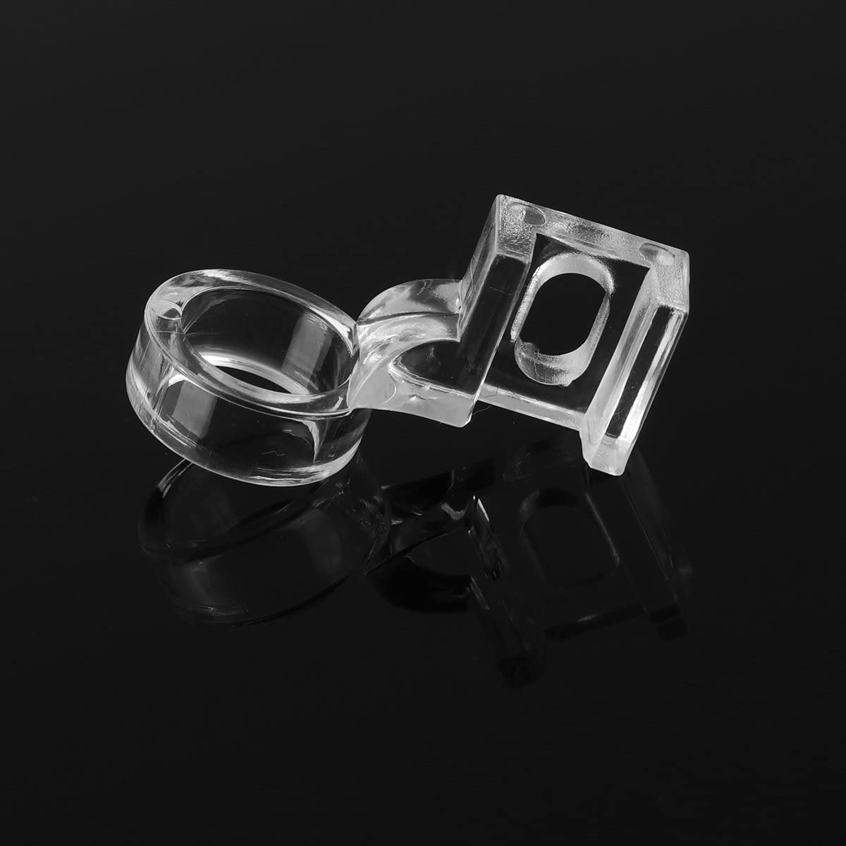 Low Shank Ruler Foot,SONSAN 1//4 Low Shank Ruler Foot Clarity Clear Frame Quilting Sewing Presser Foot