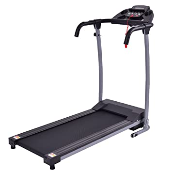 Review Goplus 800W Folding Treadmill Electric Motorized Power Fitness Running Machine W/Mobile Phone Holder