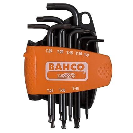 Bahco BE-9675 - Juego Destornillador Torx Bola 8 Pzs: Amazon.es ...