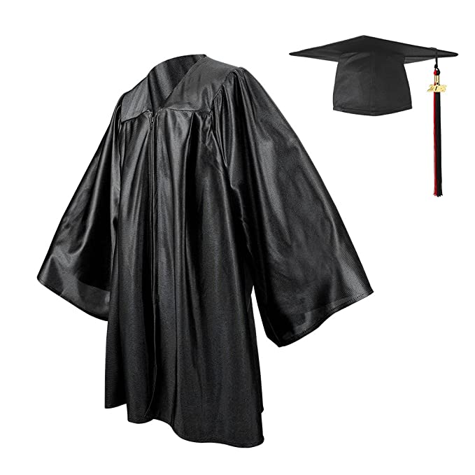 Amazon.com: YesGraduation Kindergarten Graduation Gown Cap Set 2018+ ...