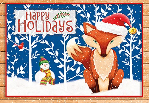 Joy Boxed Holiday Card - 9