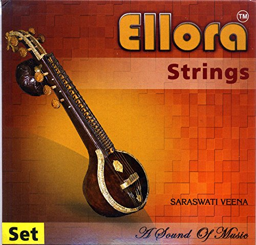 VEENA STRING SET PROFESSIONAL QUALITY PARTS AND ACCESSORIES SWA035 by Sitar World