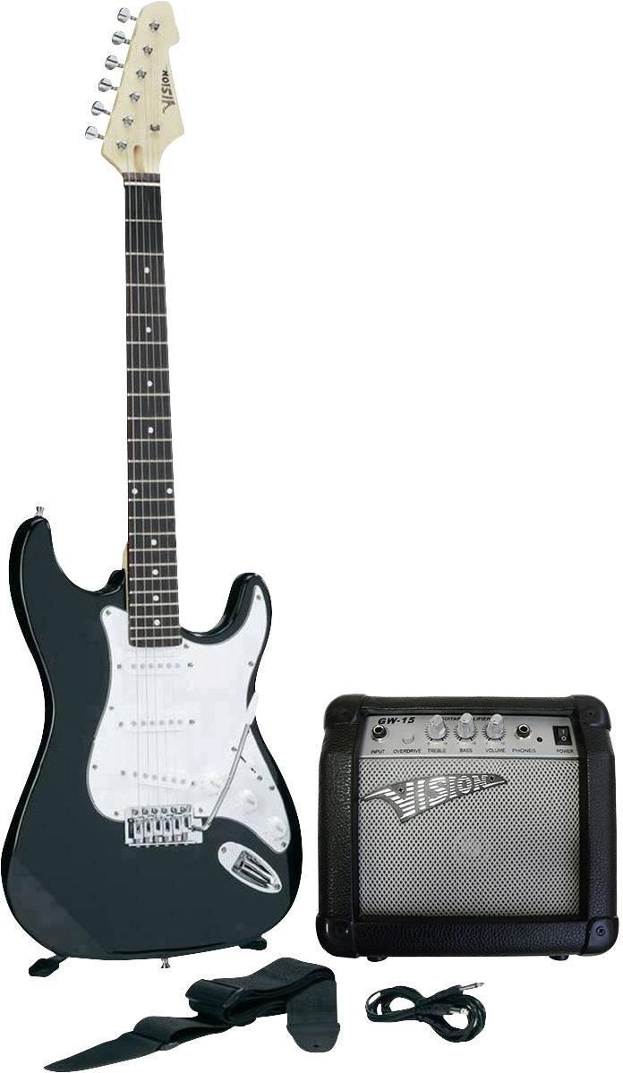 marca en liquidación de venta Set guitare guitare guitare électrique MSA Musikinstrumente noir avec étui  autorización