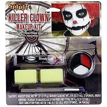Amazoncom Fancy Face Paint Color Halloween Kids Scary Clown