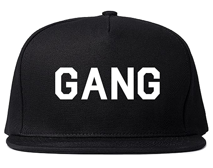 Gang Squad Mens Snapback Hat Cap Black at Amazon Men s Clothing store  48adc118a25