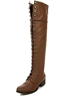 b10b5be0908 Breckelle s ALABAMA-12 Women s Knee High Riding Boots