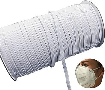 MYUREN 3//4 Inch by 10 Yard Black Heavy Stretch High Elasticity Elastic Spool Knit Elastic Bands for Sewing