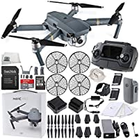 DJI Mavic Pro FLY MORE COMBO Collapsible Quad copter + DJI Propeller Cage Starters Bundle