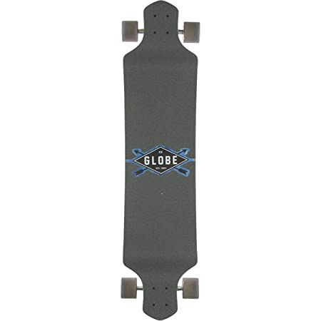 GLOBE HG Geminon Drop-Down Longboard, Blue Diamond/White, 41-Inch