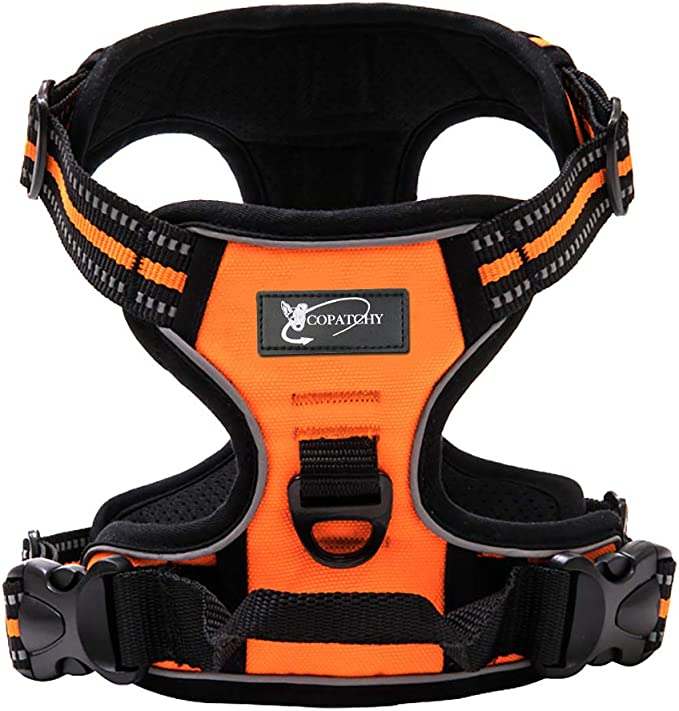 Copatchy Dog Harness No-Pull Pet Harness