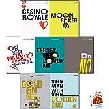 James Bond 007 Ian Fleming Vintage Classics Series 2 :7 Books Collection