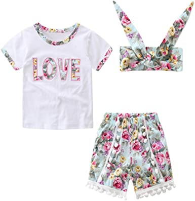 Pineapple Toddler Baby Girls Short Sleeve ONeck Basic Shirts with Printed Designs in Front for School Birthday Party Gifts Ruffles Top White