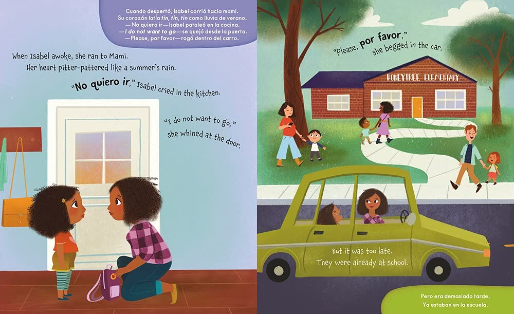 Isabel and her Colores Go to School (English and Spanish Edition):  Alessandri, Alexandra, Dawson, Courtney: 9781534110632: Amazon.com: Books