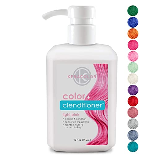 10. KERACOLOR Conditioning Cleanser Instantly Infuse Color into Hair - Best Shampoo for Color Infusion